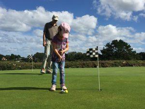 decouverte initiation golf