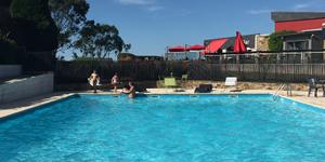 piscine du golfhotel